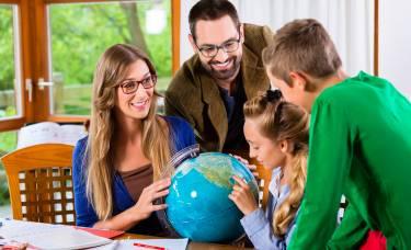 Обучение в семье преподавателя Home Language International (Италия)