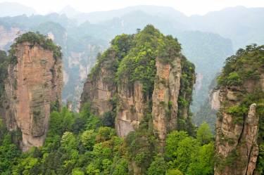 Классический Китай + горы Аватар
