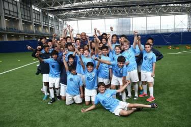 Manchester City Детский футбольный лагерь