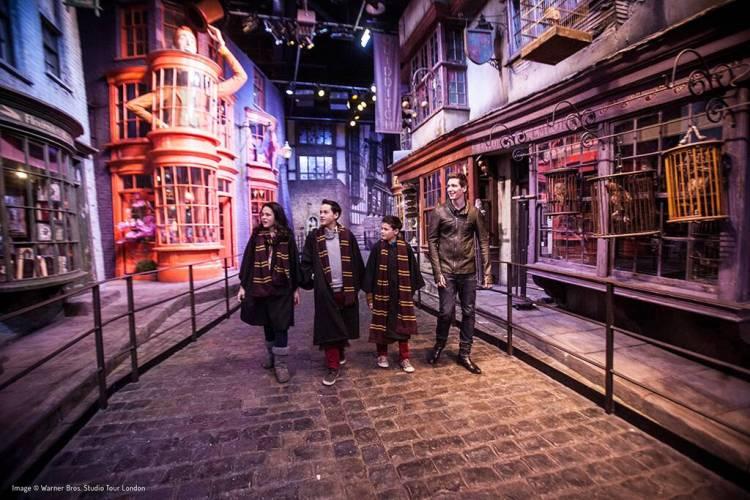 "Тур Лондон детям  ""Гарри Поттер,  4 экскурсии"